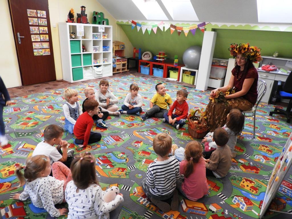 Pani Jesień Z Wizytą W Przedszkolu Przedszkole